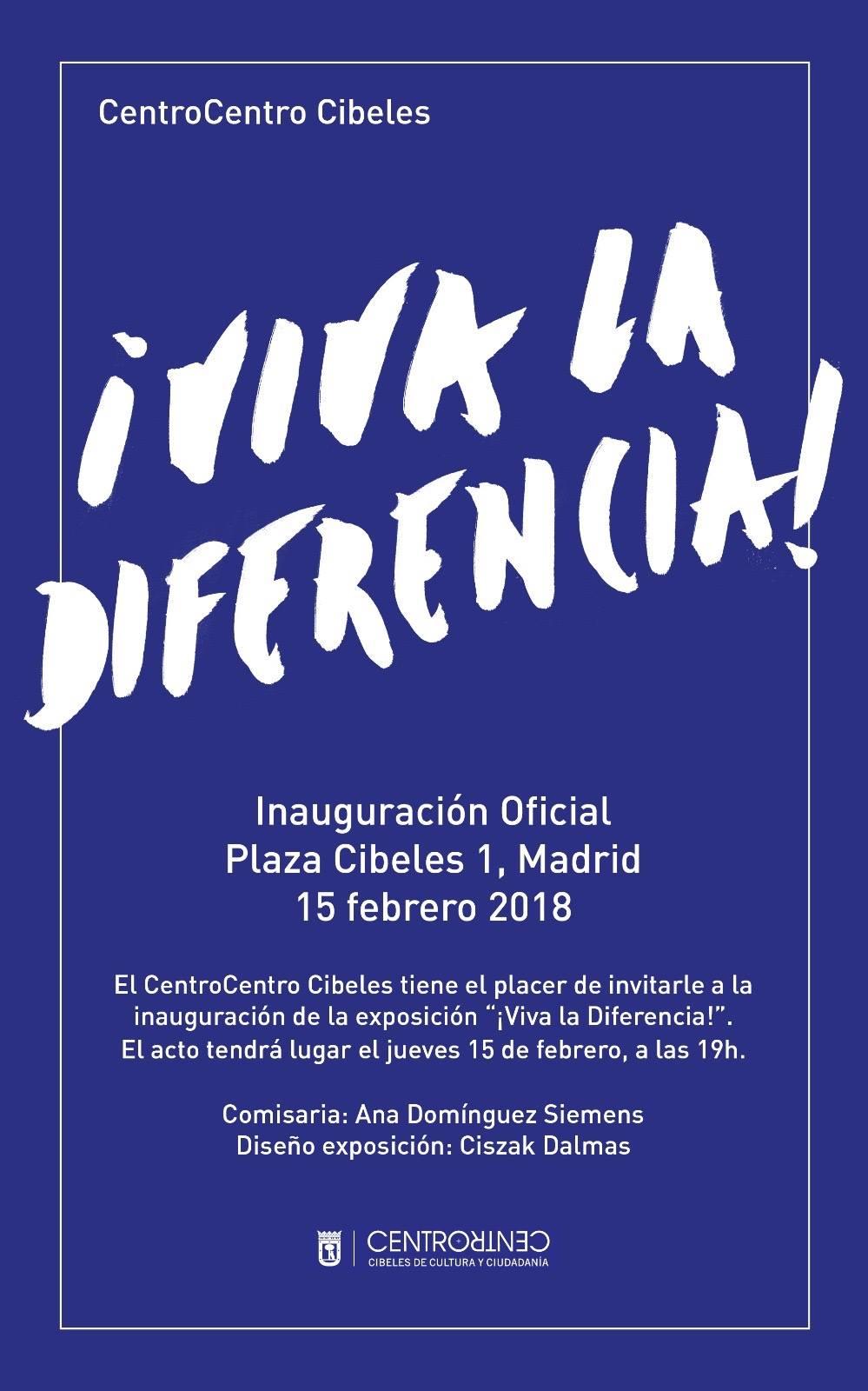 Feb 16th may 20th 2018 viva la diferencia madrid for Wmf offenbach