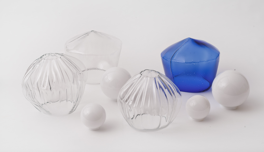 Pre-Mould Lights by Annika Frye-all glass shapes