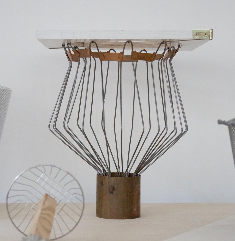 Pre-Mould Lights by Annika Frye-wire mould