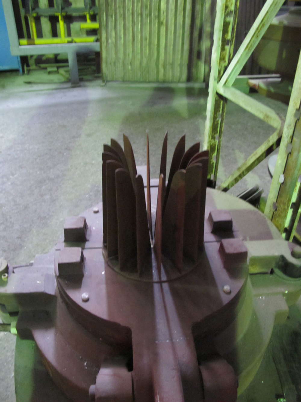 The original »Pre-mould« I found in the factory.