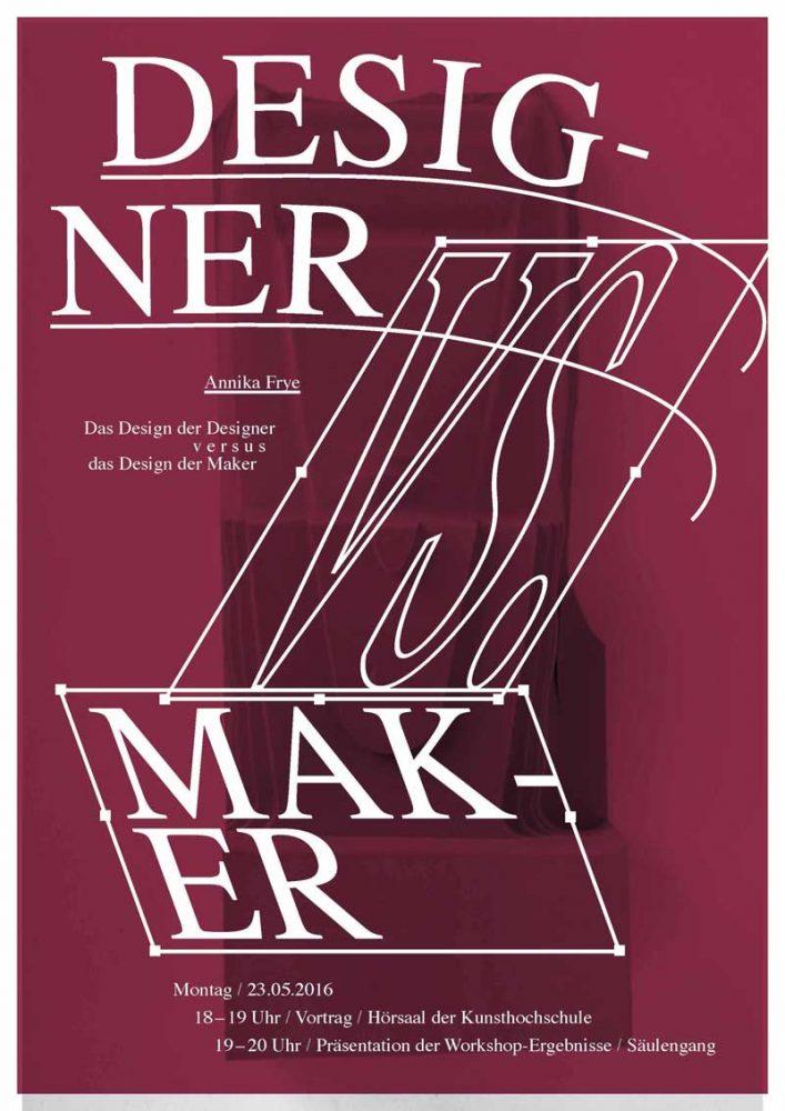designer vs maker annika frye